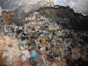 Derbentte tulum peyniri mağarası