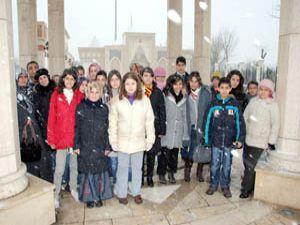 Öğrenciler Mevlana Kültür Vadisi projelerini gezdi