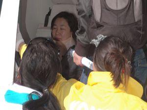 Çinli turistleri taşıyan otobüs devrildi: 5 yaralı