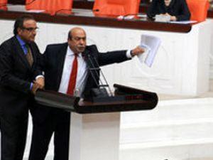 Mecliste Sayın Öcalan kavgası