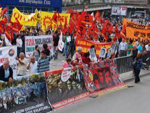 KESK Konya Torba Yasa Tasarısını protesto etti