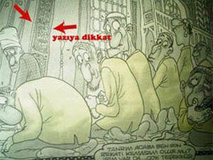 Penguenden İslama ağır hakaret