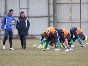 Yılmaz Vural ile Konyasporun ilk antremanı
