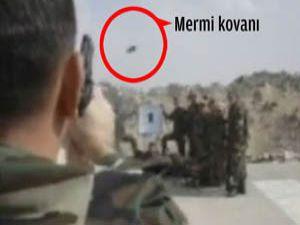 Yüzbaşı, Mehmetçiği hedef yaptı (video)