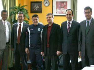 Başkanlardan Konyaspora ziyaret