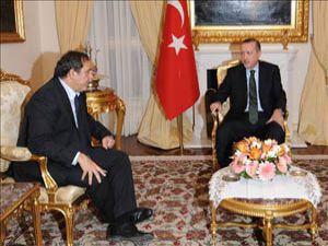 Başbakan ile UEFA Başkanının gece zirvesi