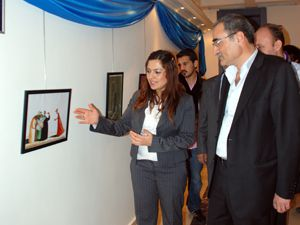 Hoşgörü Sergisi, Selçuk Üniversitesinde açıldı