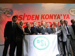 Bakan Eroğlu 2 tesisin temelini attı