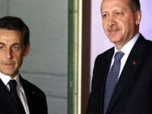 Erdoğan ve Sarkozyden basın açıklaması
