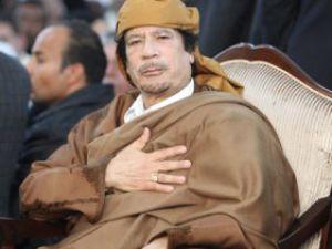 Kaddafi için yolu sonu