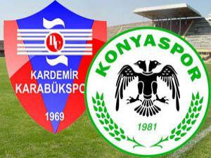 Konyaspor Karabüksporu geçemedi:2-1