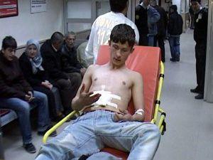 17 yaşındaki genç selam vermeyince bıçaklandı