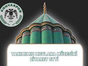 Konyaspor Mevlanada dua da