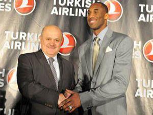 Kobe Bryant davulcu oldu