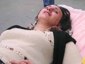 Hamile Eşini Hastanelik Etti