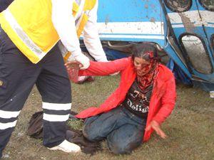 Konyada feci kaza: 7 ölü 14 yaralı
