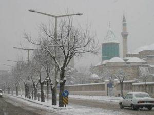 Konyada son kar haberleri...