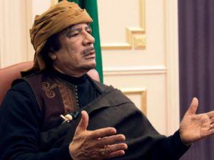 Kaddafiden flaş karar