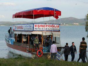 Beyşehir Gölü adalarına mantar turu