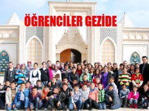 Konya kültür gezisi öğrencileri sevindirdi