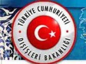 Türk Dışişleri uyardı