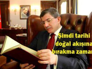 Davutoğlu İngiliz gazetesinden mesaj verdi