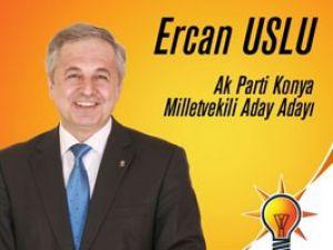 Ercan Uslu adaylığını açıkladı