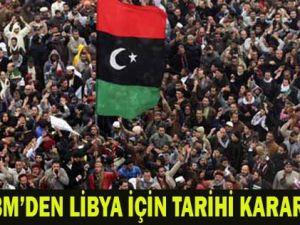 BM Libyayı uçuşa yasak bölge ilan etti