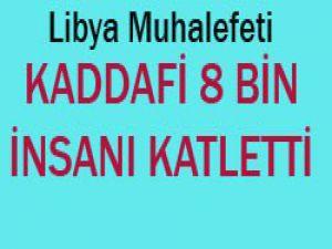 Kaddafinin Libya günahı
