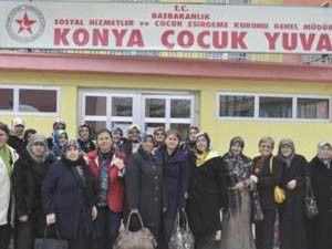 Gönüllü Hanımlardan Konya çıkarması