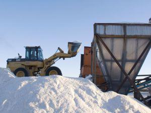 Tuz Gölünde yeni tuzla alanları