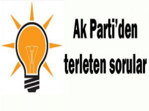 AK Partiden vekil adaylarına 5 soru!