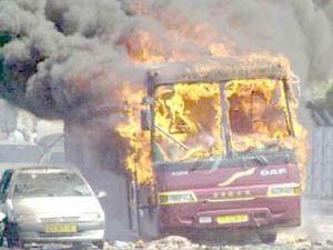 Batı Kudüste bir otobüste patlama...