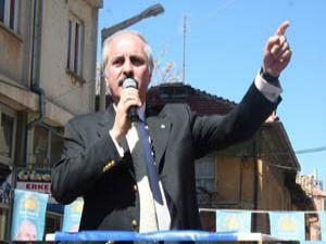 HAS Parti lideri Numan Kurtulmuş Konyada