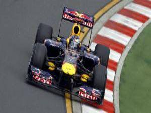 Formula1de ilk yarış Vettelin