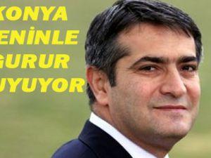 Ercan Taştekin Konyayı gururlandırdı