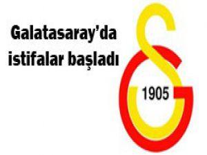 Galatasarayda 3 istifa