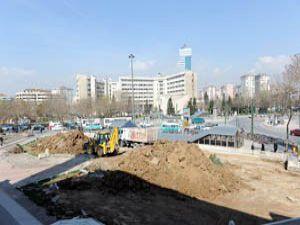 Hacıveyiszade çevresi meydan haline getiriliyor