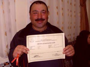 Kululular sertifikalarını aldı
