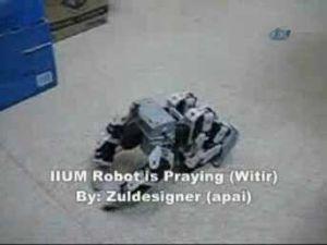 Müslüman robot yaparsa..