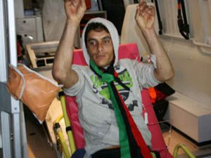 Yaralılar Libyadan askeri uçakla getirildi