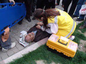 Akşehirde trafik kazası: 1 yaralı