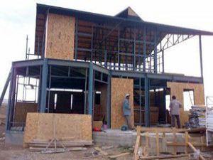 Çelik evler fuarın gözdesi haline geldi