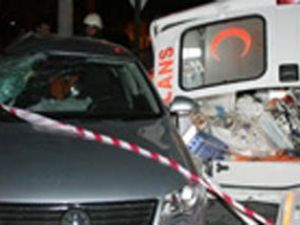 Alkollü Sürücü Valinin Makam Otomobiline Çarptı