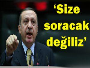 Erdoğan Avrupayı adeta payladı...
