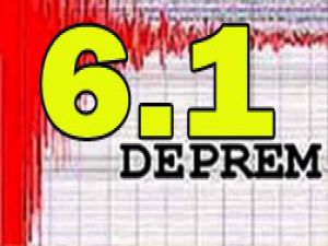 Japonyada şiddetli deprem