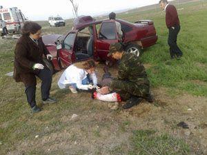 Aksarayda trafik kazası: 6 yaralı