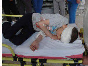 6 yaşındaki çocuğun üzerine dolap düştü
