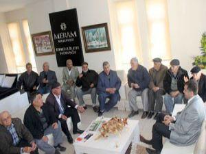 Başkan Kalaycı emeklilerle sohbet etti