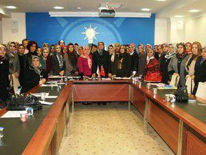 Kadın Kolları ilk yönetim kurulu toplantısını yaptı